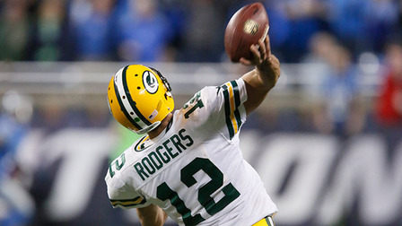How Far Exactly Did Aaron Rodgers Hail Mary Throw Travel