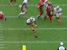 Browns Glenn Winston fumbles, 49ers recover