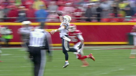 Chargers Danny Woodhead makes one-handed circus catch ...