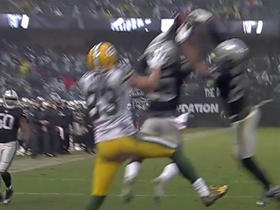 David Amerson picks off Aaron Rodgers