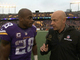 "Watch: Peterson on Bridgewater: ""He's going to help us push forward"""