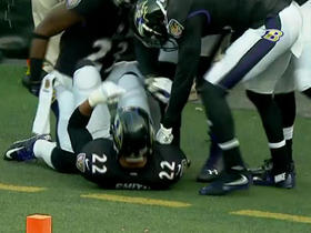 Watch: Ravens penalty nullifies pick 6