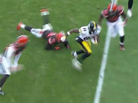 Steelers Antonio Brown stripped of ball