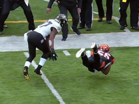 Vontaze Burfict intercepts Ryan Mallett