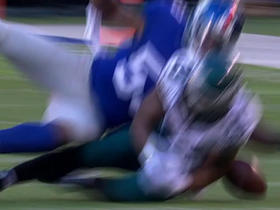 Watch: DeMarco Murray fumbles, Giants recover