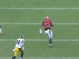 Watch: Ben Roethlisberger intercepted by Craig Robertson