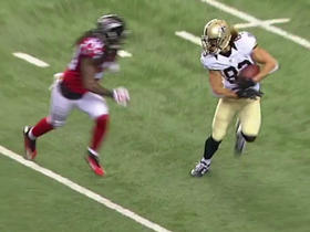 Drew Brees hits Willie Snead for 22 yards