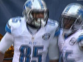Watch: Matthew Stafford hits Eric Ebron for a 1-yard touchdown