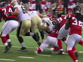 Watch: Travaris Cadet fumbles, Falcons recover