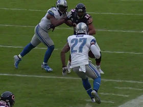 Watch: Glover Quin intercepts Jay Cutler and tempers flare