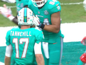 Watch: Ryan Tannehill finds Jordan Cameron for 2-yard touchdown