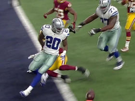 Watch: Redskins Will Blackmon forces Cowboys Darren McFadden fumble