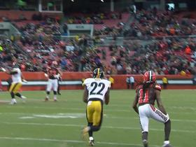 William Gay intercepts Austin Davis