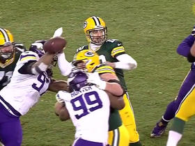 Watch: Can't-Miss Play: Rodgers' fumble returned for a TD