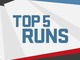 Watch: Week 17: Top 5 Runs | Ike & MJD