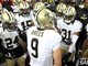 Watch: Drew Brees' Pregame Huddle at Falcons
