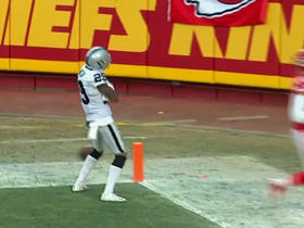 Watch: Raiders David Amerson nabs pick-six against Alex Smith