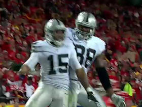 Watch: Raiders Michael Crabtree snags 31-yard touchdown