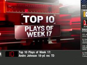 Top 10 plays of Week 17