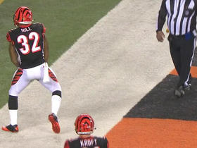 Watch: Jeremy Hill runs in 1-yard TD