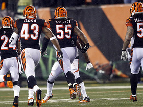 Watch: Wild Card Can't-Miss Play: Burfict takes pick to locker room