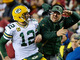 Watch: Aaron Rodgers congratulates Mike McCarthy