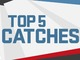 Watch: Divisional Round: Top 5 Catches | Ike & MJD