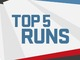 Watch: Divisional Round: Top 5 Runs | Ike & MJD