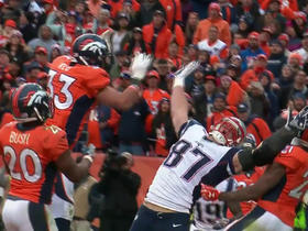 Watch: Rob Gronkowski gets fired up after failed fourth down conversion