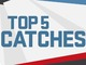 Watch: Championship Weekend: Top 5 Catches | Ike & MJD