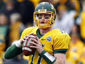 Watch: Mayock: Wentz is my favorite QB in the draft