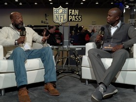 Watch: Fan Pass: Tony Nathan and Caleb Castille Interview