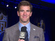 Watch: Eli: 'I don't think Peyton has decided' on retirement