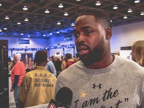 Watch: 1-on-1 with Torrey Smith at Super Bowl 50