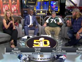 Watch: Nick Mangold and Larry the Cable Guy talk Jets, Taste of the NFL