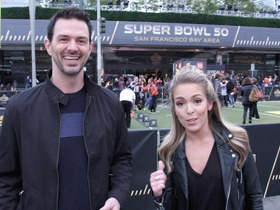 Watch: Marc and Colleen compete in NFL Experience