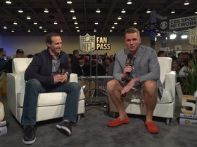 Watch: Fan Pass: Pat McAfee thinks the world of Drew Brees