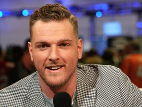 Watch: Pat McAfee takes over the Fan Pass set as Host