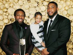 Watch: Leah Still presents Eric Berry with Comeback Player of the Year award