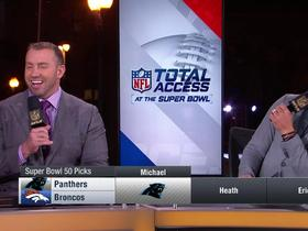 Watch: 'NFL Total Access' crew makes Super Bowl 50 picks