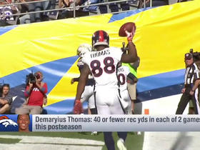 Watch: What's wrong with Demaryius Thomas?