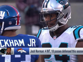 Watch: What impact will Josh Norman have today?