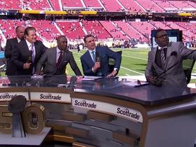 Watch: Irvin struggles to take a selfie