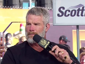 Watch: Favre: 'It hits you that you're amongst the best'