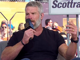 Watch: Brett Favre on HOF and Super Bowl expectations