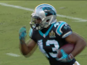 Watch: Panthers Fozzy Whittaker 15-yard run