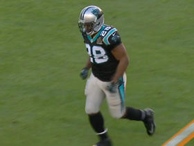 Watch: Panthers Jonathan Stewart is injured at the Super Bowl