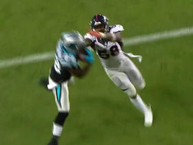 Watch: Von Miller breaks up pass intended for Jerricho Cotchery