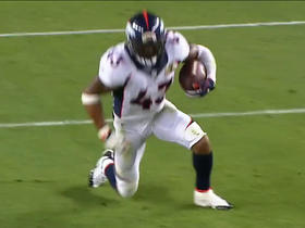 Watch: T.J. Ward picks off Cam Newton and fumbles, recovered by Broncos Danny Trevathan