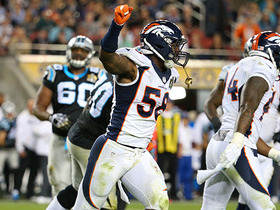 Watch: Von Miller busts out spin move to sack Cam Newton